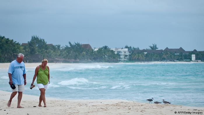 Turisti na plaži