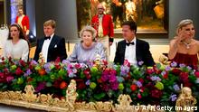 Königin Beatrix Dinner in Amsterdam