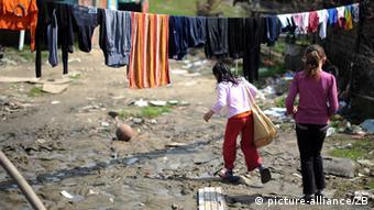 Djeca u romskom naselju