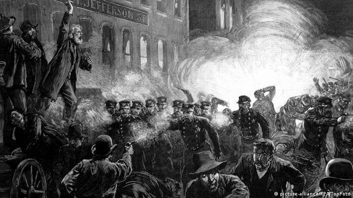 Neredi na Hejmarketu u Čikagu