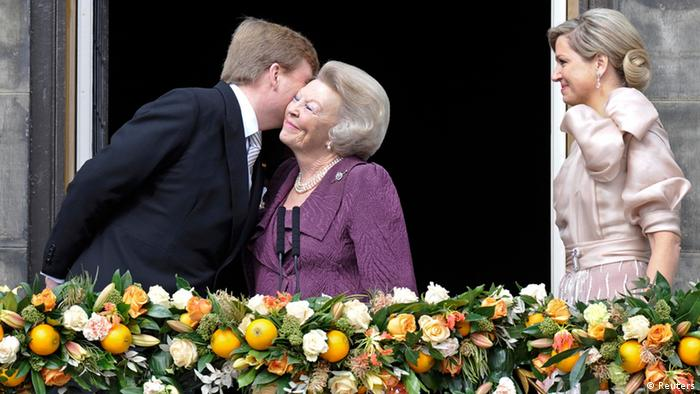 Beatrix Abschied König Willem-Alexander Königin Maxima