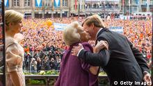 Königin Beatrix Abschied Thronwechsel König Willem Alexander