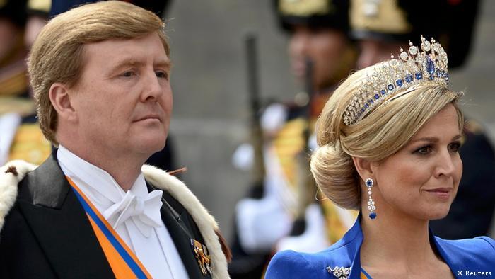 Königin Beatrix Abschied Thronwechsel König Willem Alexander REUTERS/Dylan Martinez