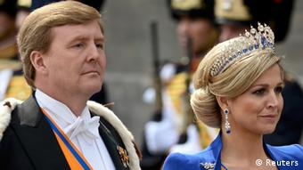 Ο βασιλιάς της Ολλανδίας Γουλιέλμος Αλέξανδρος και η σύζυγός του Μάξιμα