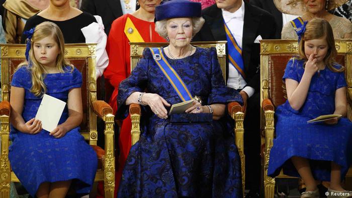 Königin Beatrix Abschied Thronwechsel König Willem Alexander Prinzessinnen