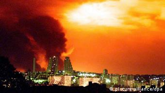 Belgrad Nato Bombardement (picture-alliance/dpa)