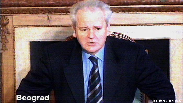 Slobodan Milošević na televiziji 1999.