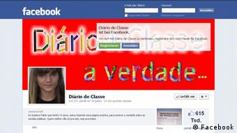Screenshot Facebook Isadora Faber