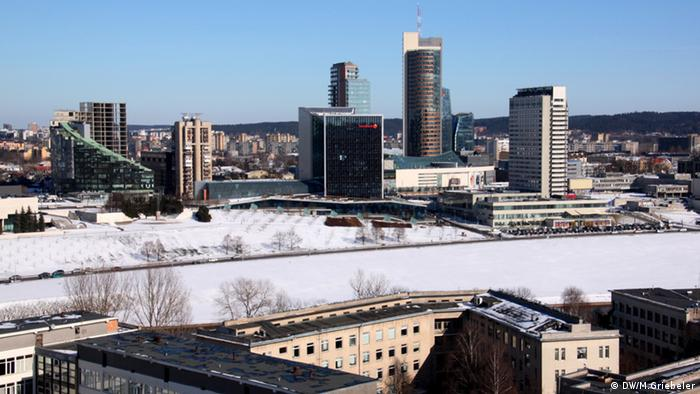 Skyline of Vilnius (Photo: Monika Griebeler / DW)