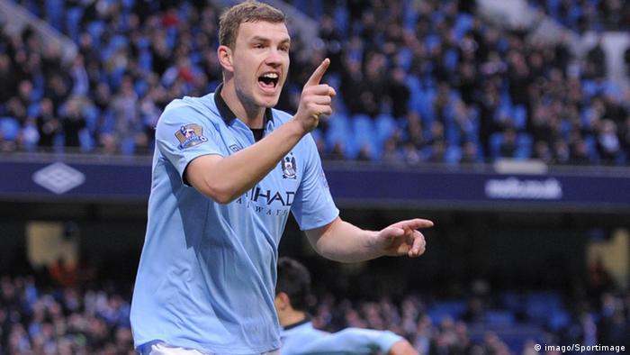 Fußball Premier League Manchester City Edin Dzeko