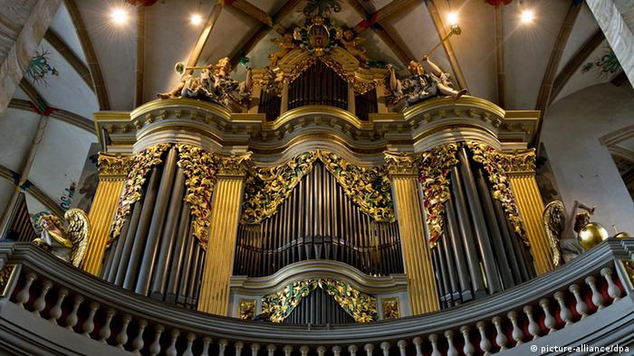 Bildergalerie Orgeln Silbermann-Orgel im Dom zu Freiberg
