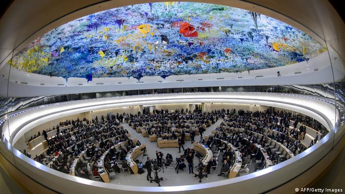 Menschenrechtsrat in Genf