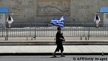 Griechenland Protest Demonstration Sparmaßnahmen Generalstreik 01.05.2013