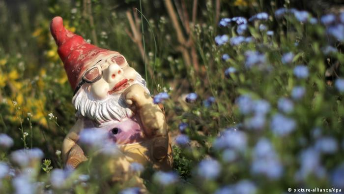 Garden gnome with glasses (picture-alliance/dpa)