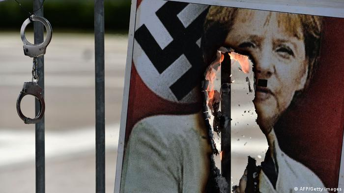 Protest przeciwko polityce zaciskania pasa (01.03.2013)