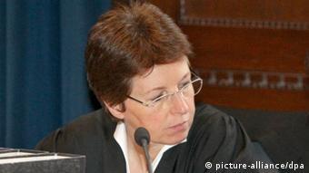 Angelika Lex in court