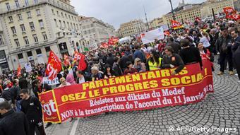 01.05.2013 1. Mai Gewerkschaften Demonstration Protest Frankreich