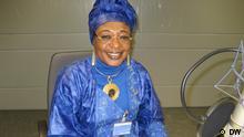 Jacqueline Moudeina Trägerin Alternativer Nobelpreis 2011 Besuch bei DW Bonn