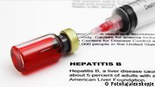 Impfung gegen Hepatitis B #45529713 - Fotolia.com Hepatitis © alexskopje