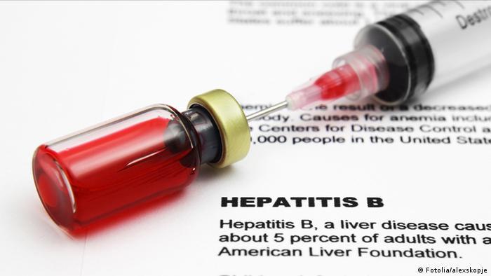 Symbolbild Hepatitis B Virus