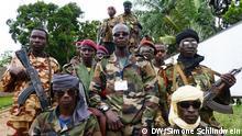 Rebellen in Bangui