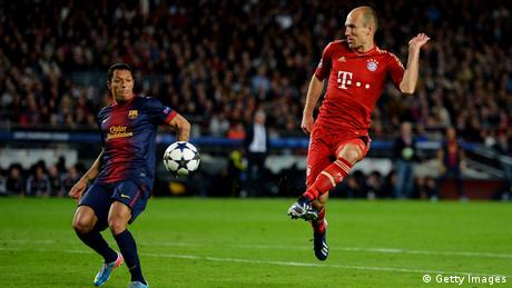 Arjen Robben and Alexis Sanchez (Foto: getty)