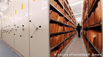 Deutschland Stasi-Akten lagern in der Stasi-Unterlagenbehörde in Berlin