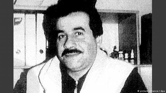 Schwarz-weiß Portrait von Habil Kiliç. (Foto: dpa)