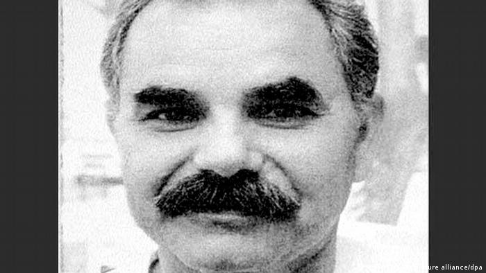 Schwarz-weiß Portrait von İsmail Yaşar. (Foto: dpa)