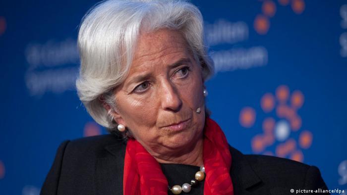Директорка МВФ Кристин Лагард