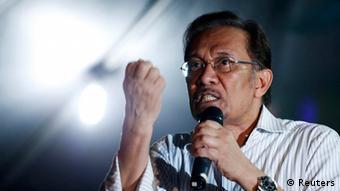 Malyasia Wahlen Oppositionsleader Anwar Ibrahim 10.04.2013