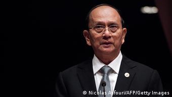 Myanmar Präsident Thein Sein 29.04.2013