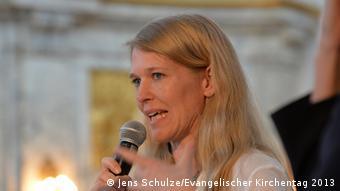 Evangelischer Kirchentag 2013 Sinn des Wirtschaftens Antje von Dewitz