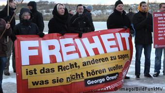 Demonstration NPD Warnemünde 2012
