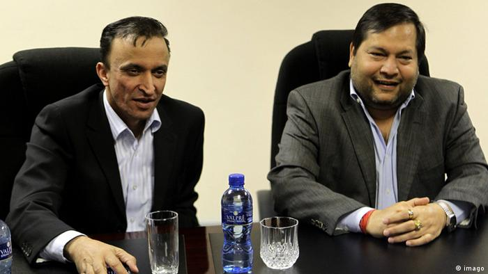 The Gupta brothers are businessmen in South Africa.(imago)