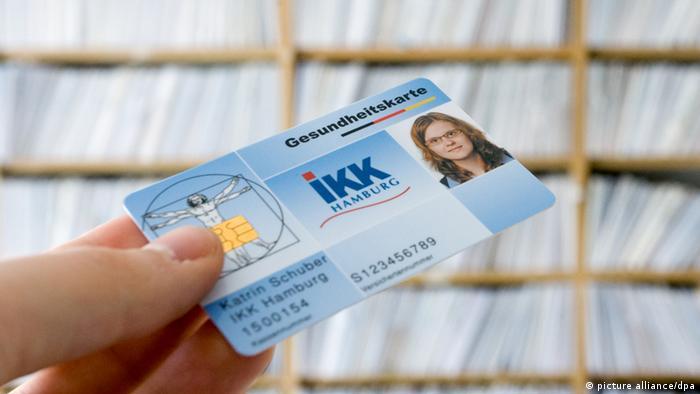 В Германия преди всяко посещение при лекаря се представя електронната здравноосигурителна карта