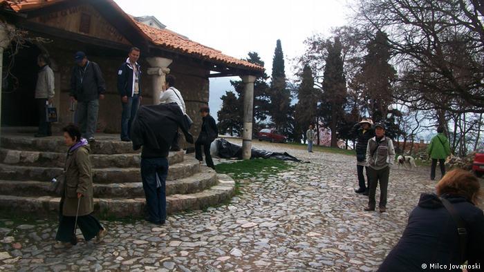 Sveta Bogorodica Perivlepta Ohrid Mazedonien Japan Tourist