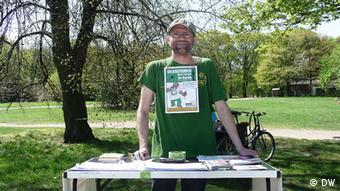Berlinli Çevreci Aktivistler Derneği'nden Jens Martin Rode