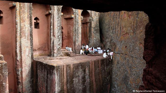 Lalibela - Orthodoxe Christen