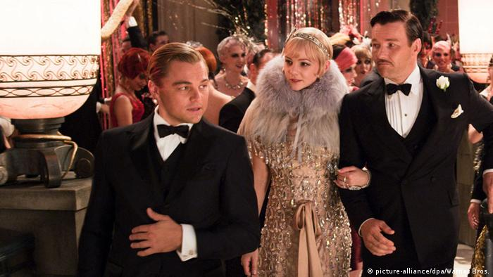 Eröffnungsfilm in Cannes: Leonardo Di Caprio in 'The Great Gatsby'. Foto: picture- alliance/dpa/Warner Brothers