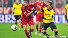 Fußball Bundesliga FC Bayern München gegen Borussia Dortmund in München 1.12.2012