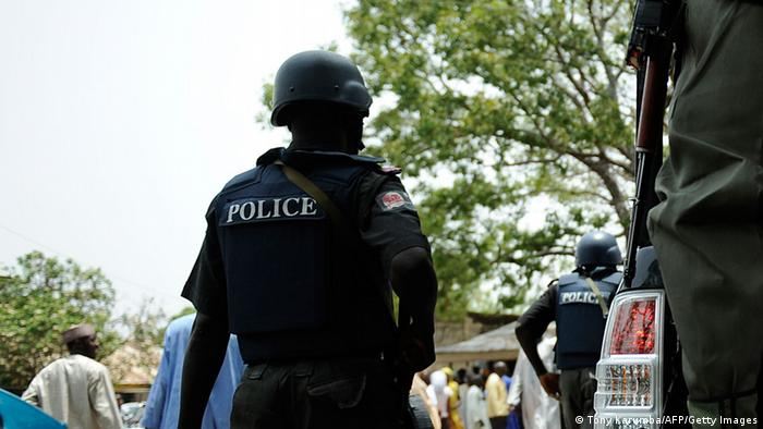 Polizei in Nigeria (Tony Karumba/AFP/Getty Images)