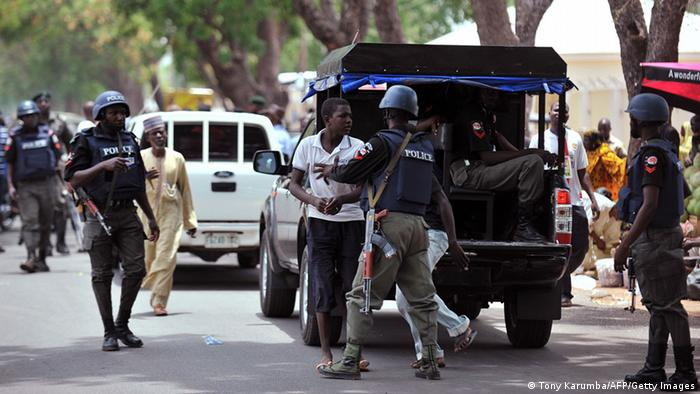 Polizei in Nigeria (Foto: AFP/ Getty Images)