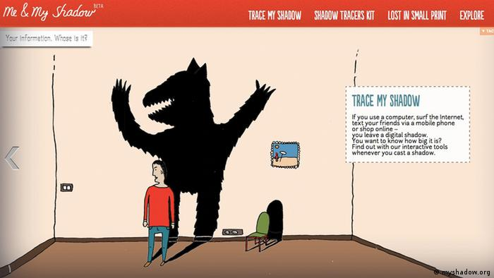 Screenshot from Me and My Shadow, the winner of DW's The Bobs award in the Most Creative and Original category