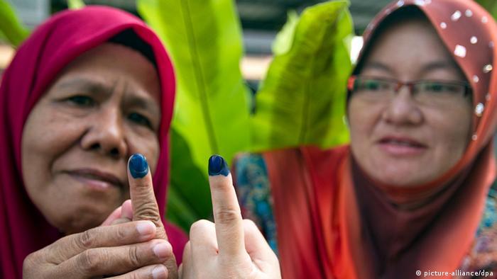 Wahlen Malaysia 2013 Wahllokal