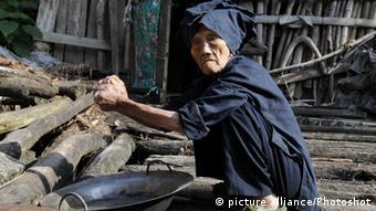 Alte Menschen in China