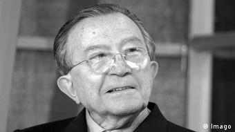 A picture of Italian politcian and life senator, Giulio Andreotti. (Photo: imago/Granata Images)