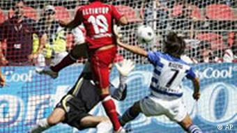 Bundesliga 2005, 2. Spieltag: 1. FC Kaiserslautern - MSV Duisburg, Altintip schießt 1. Tor