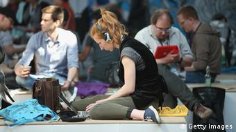 Teilnehmer der Re:publica 2013 in Berlin(Foto: Sean Gallup/Getty Images)