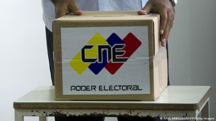 Wahlergebnis Venezuela Neuauszählung (RAUL ARBOLEDA/AFP/Getty Images)